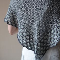 """ALLIUM"" shawl KIT"