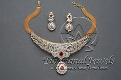 Diamond Choker Set | Tibarumal Jewels | Jewellers of Gems, Pearls, Diamonds, and Precious Stones