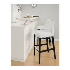 IKEA - $89.00 Cushion and Fabric covered stools (more comfort) for Staff Lounge