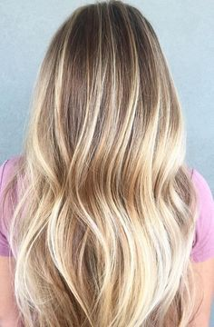 Honey blonde and buttery babylights. Soooo good. Color by Ashleigh Nichols. Filed under: Hair Color, Hair Styles, Hair Stylists Tagged: balayage, beauty, blonde, hair, hair color, hairstyles, highlig