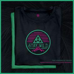 The Legend of Zelda / Stay Wild / Tshirt / Teepublic Shop Stay Wild, Legend Of Zelda, Athletic Tank Tops, Shirt Designs, Retro, T Shirt, Women, Fashion, Tee