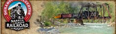 Durango & Silverton Narrow Gauge Railroad Train - Great ride...feels like you've stepped back in time.  Board in Durango, CO