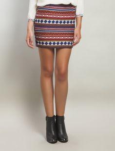 C.Serrano Ethnic Skirt