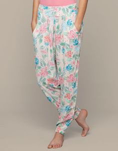 Oysho SS13 #flower #pants #print