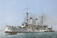 Asama and Tokiwa were ordered in UK as part of the fleet and naval plan. They served in the Russo-Japanese war but also in and in various roles. Navy Coast Guard, Gun Turret, Imperial Japanese Navy, Rear Admiral, Armada, Navy Ships, Historical Pictures, Military Art, Royal Navy