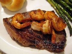 Steak and Shrimp =)) My favorite meal ever!