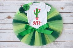 Cactus birthday outfit girl 'Fiona' Cactus first birthday outfit girl, cake smash baby girl, summer birthday outfit, cactus tutu outfit Summer Birthday Outfits, First Birthday Outfit Girl, Twin First Birthday, Twin Birthday Themes, Twin Birthday Parties, Birthday Cake, Birthday Ideas, Smash Cake Girl, Cake Smash Outfit