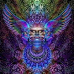 Alex Gray Art, Alex Grey, Art And Illustration, Fantasy Kunst, Fantasy Art, Psy Art, Brown Art, Mystique, Process Art