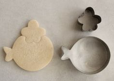 balloon cookie cutter for fish...brilliant!