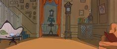 la magia de la animación: 101 Dálmatas (Escenarios)