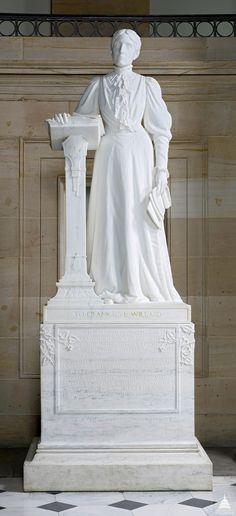 Frances E. Willard's statue in National Statuary Hall, Washington DC