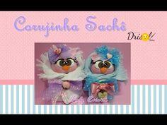 Corujinha sachê-Profª Ludmila Rangel - YouTube