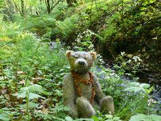 Der Bär mit Bucheckern am Handbach