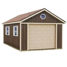 Sierra 12 Ft. X 16 Ft. Wood Garage Kit Without Floor