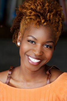 Love the hair color…. | Black Women Natural Hairstyles