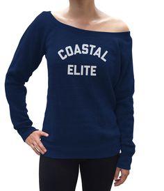 Women's Coastal Elite Scoop Neck Fleece - Juniors Fit