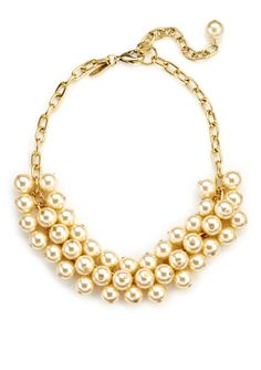 LENORA DAME Cluster Necklace