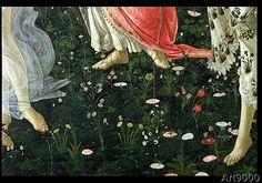 Sandro+Botticelli+-+Primavera:+Detail+of+Flowers