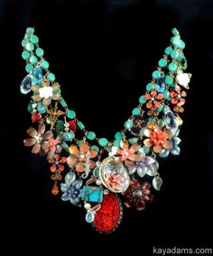 L4564 Sold [L4564] - $0.00 : Kay Adams, Anthill Antiques, Jewelry and Chandelier Heaven. Coral and Turquoise.