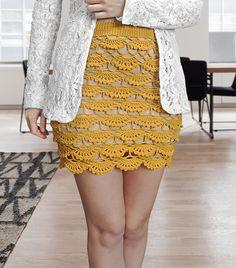 EDITOR'S CHOICE (02/28/2017) Crochet Skirt Pattern by janegreen View details here: http://crochet.community/creations/5241-crochet-skirt-pattern