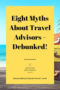 For the best luxury traveler experience, you need personalized vacation-planning. Beyond Boutique is ready to help make travel dreams come true. We aren't trying to upsell you; and – trust us – no matter how well traveled you are, Beyond Boutique has way more connections than you do. Virtuoso uncovered eight of the most common myths about travel advisors, and we're here to debunk them, once and for all. Follow @beyondboutiquetravel for the latest intel in luxury travel Travel Around The World, Around The Worlds, Ourselves Topic, Luxury Escapes, Common Myths, Luxury Travel, Beautiful World, Trip Advisor, Vacations