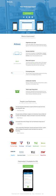fetchnotes #ui #webdesign