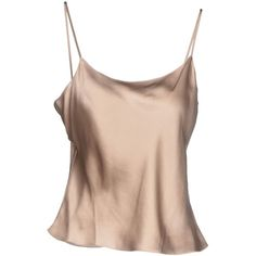 Philosophy Di Alberta Ferretti Top ($120) ❤ liked on Polyvore featuring tops, shirts, tanks, beige, no sleeve shirt, shirt tops, pink top, pink sleeveless shirt and sleeve less shirts
