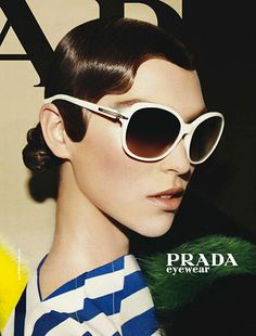 Arizona Muse Prada Campaign