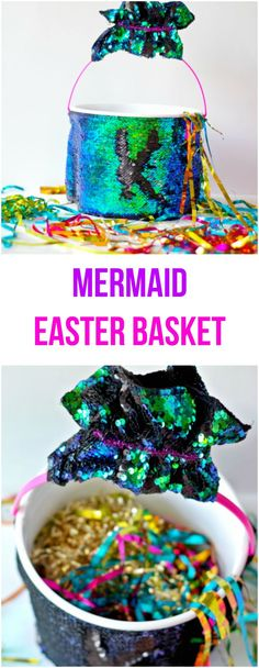 Mermaid Easter Baske