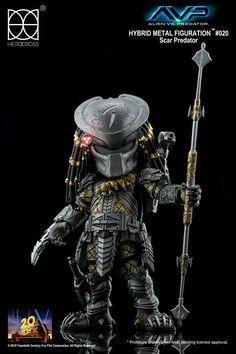 Herocross Scar Predator action figure coming soon!