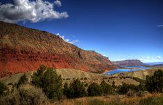The Flaming Gorge National Recreation Area, Utah