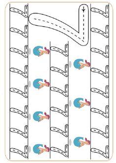 Pre-School Numbers Line Studies (New) - Preschool Children Akctivitiys Preschool Writing, Numbers Preschool, Preschool Learning, Writing Practice Worksheets, Kindergarten Math Worksheets, Preschool Activities, Montessori Math, Homeschool Math, Kindergarten Portfolio