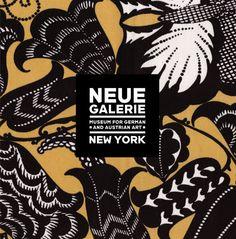 Neue Galerie Design Shop catalogue brochure, 2008 Client: Neue Galerie Design Shop, Paul Landy; Creative director and designer: Lucille Tenazas; Designer: Candice Ralph