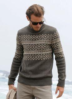 Bergere de France Fair Isle Sweater Pattern