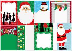 Invitaciones, Tarjetas o Fondos para Navidad para Imprimir Gratis. | Ideas y material gratis para fiestas y celebraciones Oh My Fiesta!