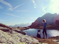 Ai confini del cielo!  #trentinodavivere #montagna #tdv #falchettolovers #youandme #falchettolovesanimal #lake #lago #valdirabbi #trekkingvirtuale #whisky #camminarefabene #relax