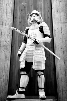 Cosplay, Conventions, and Consumerism Star Wars Film, Star Wars Fan Art, Star Wars Pictures, Star Wars Images, Cardboard Costume, Character Art, Character Design, Star Wars Painting, Samurai Artwork
