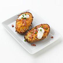 bacon and cheddar potato