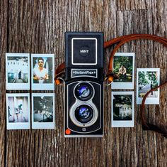 MiNT Camera: Timeless instruments for capturing memories - Electronic Tools 2020 Twin Lens Reflex Camera, Camera Nikon, Instax Mini Film, Fujifilm Instax Mini, Vintage Polaroid Kamera, Polaroid Pictures, Polaroids, Instant Film Camera, Kodak Moment