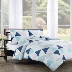 Shop for Tribeca Cotton 3-Piece Duvet Cover Set. Get free shipping at Overstock.com - Your Online Fashion Bedding Outlet Store! Get 5% in rewards with Club O! - 20616196
