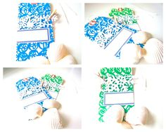 Holiday Tags in Blue and Green! | Bonita Rose, Life.Love.Color.Art a life unrehearsed