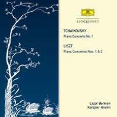 [알라딘][수입] 차이코프스키 : 피아노 협주곡 1번 op.23 & 리스트 : 피아노 협주곡 1번 S.124, 2번 S.125