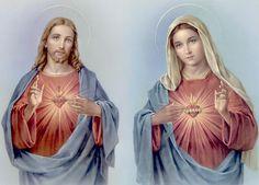 CONSAGRAÇÃO DA FAMÍLIA AOS SAGRADOS CORAÇÕES DE JESUS E MARIA