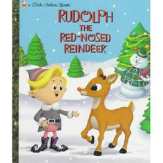 $8.99 - POOR RUDOLPH! ALL the other reindeer make fun of his bright red nose and wont let him play in their reindeer games.But when Christmas is almost canceled because of a huge snowstorm, Rudolph comes to the rescue! Based on the timeless Rankin-Bass TV special, this beautifully illustrated hardcover is sure to become a classic!  Lookout, you Abominable Snowman!!!