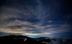 Dark, Mountain, Night, Outdoors
