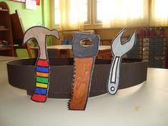 Η ζώνη με τα εργαλεία του μάστορα