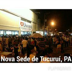 Bispo Antônio Carlos, inaugurado a nova sede da Cidade de Tucuruí PA  (null) Feito com o Flipagram - http://flipagram.com/f/brItEtjYb5