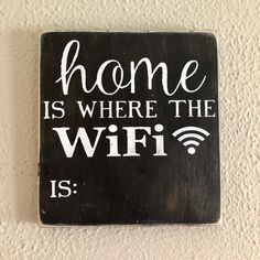 Chalkboard Sign Housewarming Gift Home is Where Home Decor Wood Sign WiFi WiFi Password WiFi Password Sign Rustic Decor -- To view further for this item, visit the image link. (This is an affiliate link) Handmade Home Decor, Diy Home Decor, Handmade Signs, Housewarming Wishes, New Interior Design, Chalkboard Signs, Wifi Password, Decor Crafts, Rustic Decor