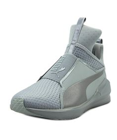 PUMA | Puma Fierce Quilted Women  Round Toe Synthetic Gray Cross Training #Shoes #Sneakers #PUMA