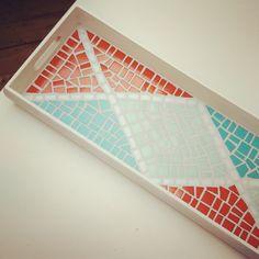 """Mosaic Tray """"Joy"""""""